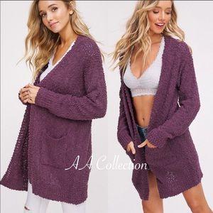 Buy Cheap Moth Anthropologie Sz M Drape-front Cardigan Driving A Roaring Trade Sweaters Women's Clothing